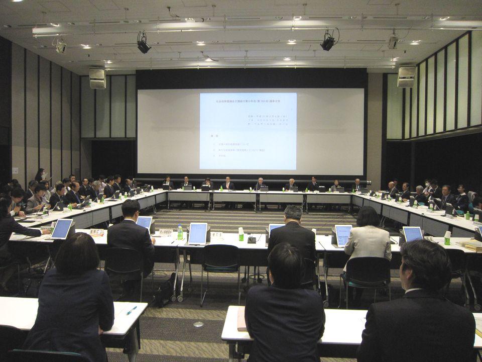 3月6日に開催された、「第169回 社会保障審議会 介護給付費分科会」