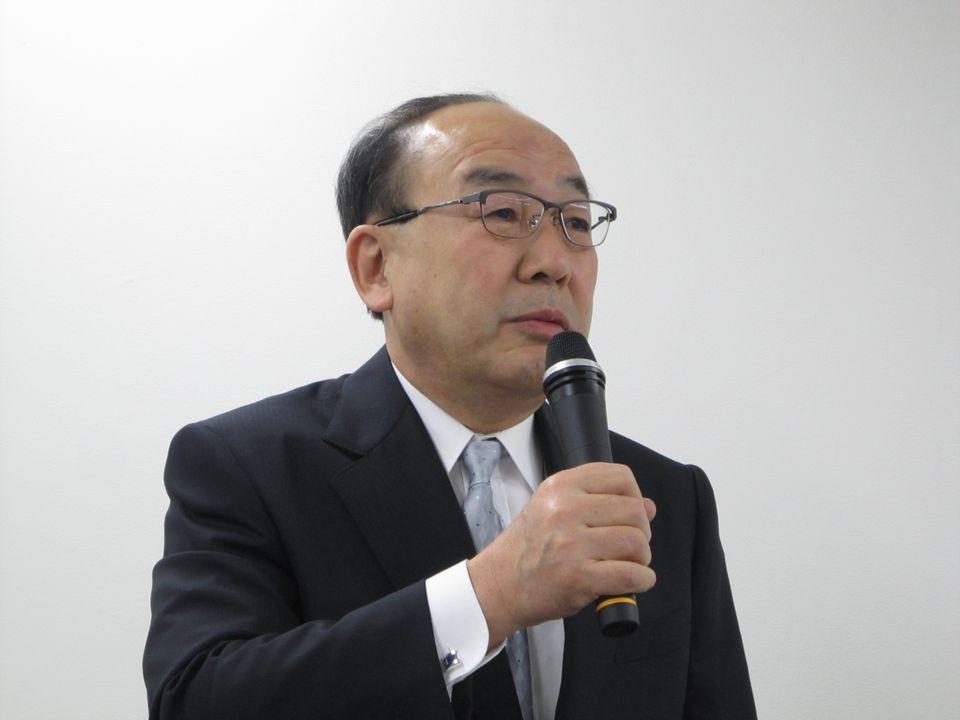 外保連の岩中督会長(埼玉県病院事業管理者)