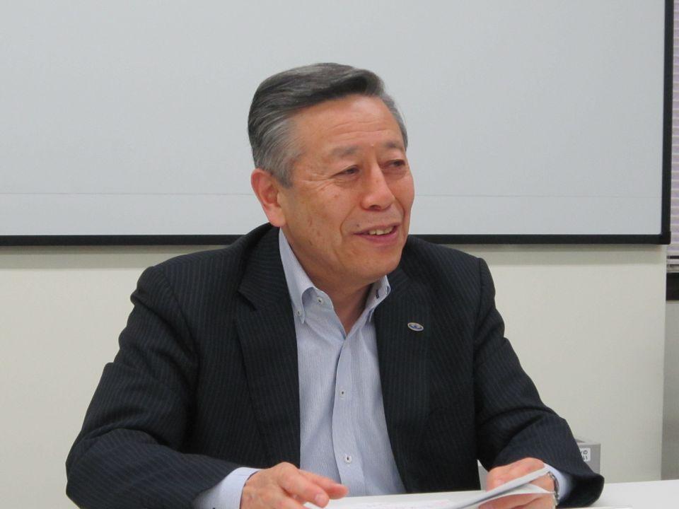 5月22日の四病院団体協議会・総合部会後に、記者会見に臨んだ日本病院会の相澤孝夫会長