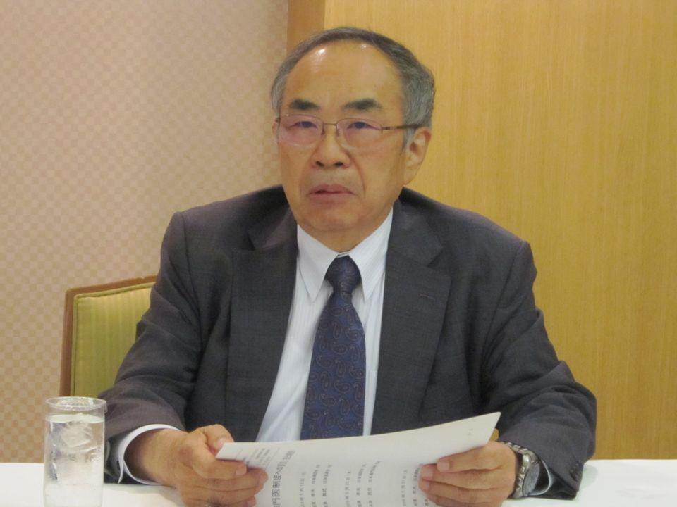 専門医制度改善を担当した日本病院会の末永裕之前副会長(5月25日に副会長職を勇退)