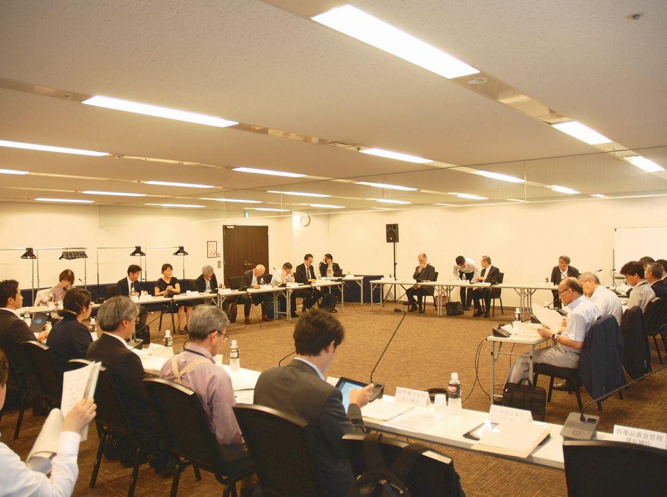7月10日に開催された、「第16回 患者申出療養評価会議」