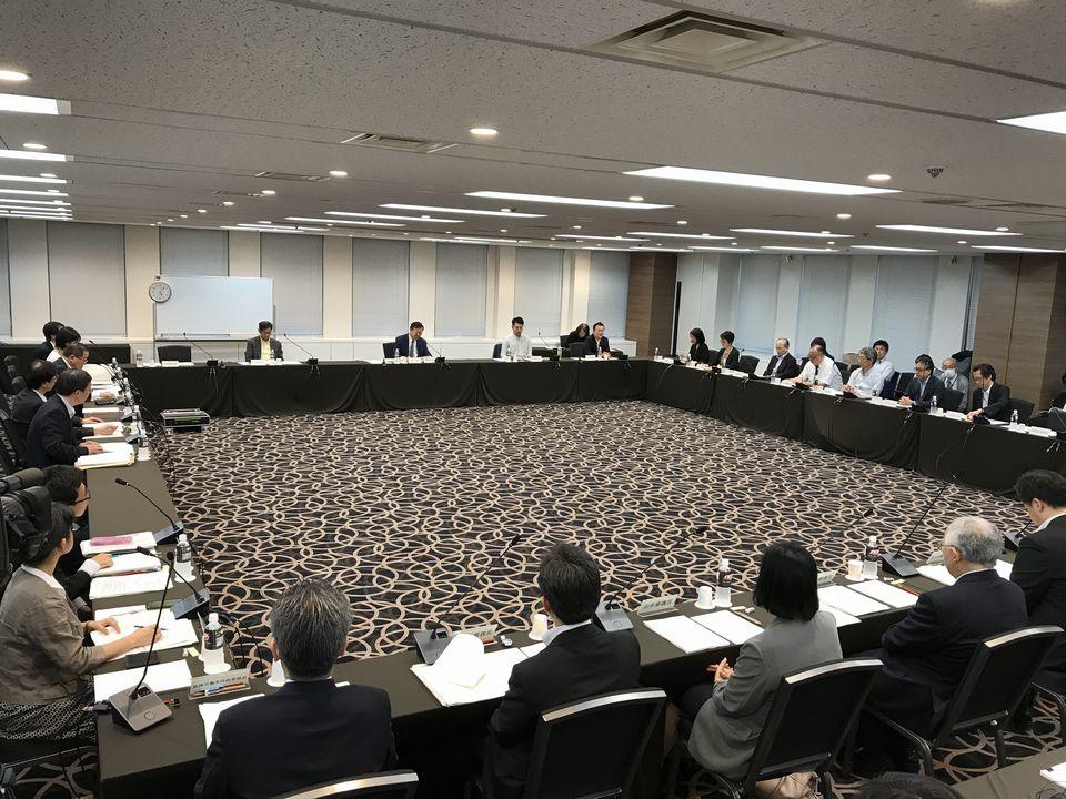 7月5日に開催された、「第1回 医師の働き方改革の推進に関する検討会」