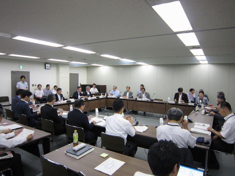 7月31日に開催された、「第1回 医療等情報の連結推進に向けた被保険者番号活用の仕組みに関する検討会」