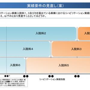 回復期リハ病棟1・3・5、リハ実績指数の基準値引き上げを検討―中医協総会(2)